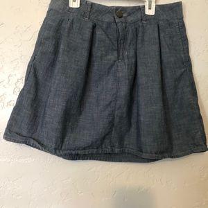 Gap 1969 demin mini skirt, size 31 waist